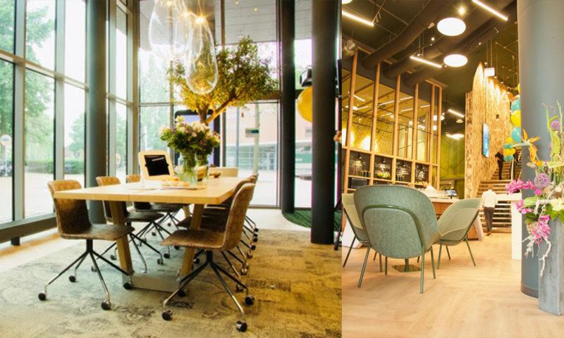 Het Nieuwe Kantoor : Abn amro integreert nieuwste technologie in circulair kantoor